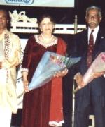 The Judges, Prabha Bhandari, S. N. Charka, Usha Chopra, Dennis Daniel and Dr. Suzy Abraham
