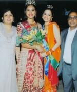 Chief organizers, Neelam & Dharmatma Saran with Tashi & Nisha