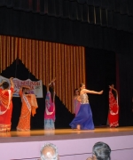 Nisha Mirchandani, leading the opening dance