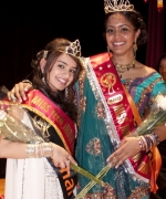 Sabrina Bachai,, Maaza Miss India New York 2010 and Aman Kaur, Miss Teen India New York 2010
