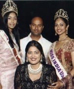 Choreographers, Devya Kumar & Rani Khetarpal with Sarika and Stacy
