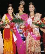 Top Three, flanked by Anjana Trivedi & Shivani Trivedi