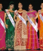Top Five (from left to right), Trina Chakravarty, Seema Sirvastava, Tashi Sharma, Khyati Gupta, and Nisha Mirchandani