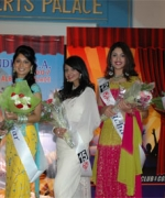 The Top Five Finalists:, (from L to R) Neha Multani, Mohar Chaudhury, Sarika Shah, Richa Gangopadhyay and Nisha Palvia