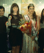 Chandan Kaur, with the Judges