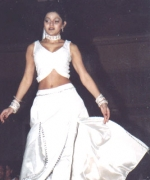 Tina Sukhramwala, performing the opening dance