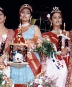 Sarika, with the top three winners