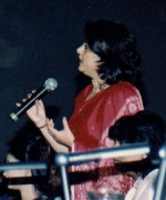 Judge Neelam Saran, asking a question