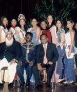 Reception at the City Hall, with the Deputy Mayor Logi Naidoo, Vivian Reddy & Farook Khan