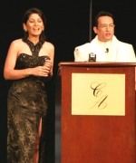 Hosts of the pageant, Shekhar Suman & Archana Puran Singh