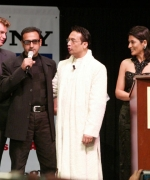 Hollywood Actor William Moore, (Son of James Bond fame Roger Moore) & Gulshan Grover being interviewed by Shekhar & Archana