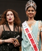 Anjali Puri, National Director of India Anjali Puri with her winner