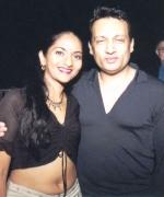 Nadia Ramnath of Trinidad, with Shekhar Suman