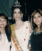Geeta Patel & associate of Shri Beauty, with Anjali Punjabi of Hong Kong