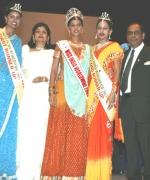 Top Three, Chief Organizer Dharmatma Saran & Neelam Saran with the Top Three