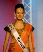 Anvita Sudarshan - Kuwait, First Runner Up