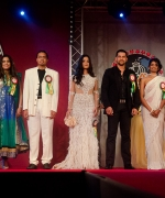 Panel of Judges, from L to R: Vinod Rowjee, Warsha Torilal-Sardjoe, Just Brahmatewari, Soraya Sibilo, Aftab Shivdasani, Susmita Patel, Neelam Saran