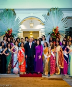 President Desire Delano Bouterse, The contestants with President Desire Delano Bouterse and First Lady Ingrid Bouterse