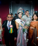 The winners, Neelam and Dharmatma Saran with Miss India Worldwide, First Runner Up and Second Runner Up