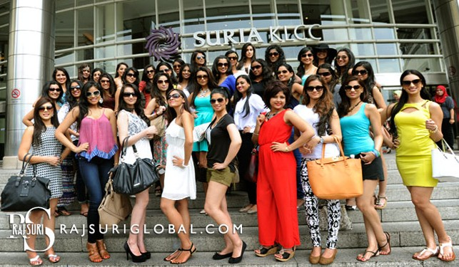 The Miss India Worldwide 2013 contestants have arrived!
